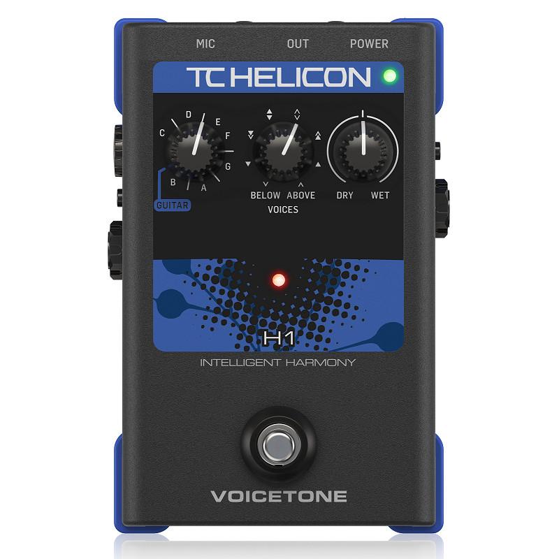 TC-Helicon VoiceTone H1 Intelligent Harmony Vocal Effects Pedal-Hàng Chính Hãng