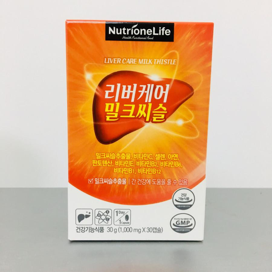 Thực phẩm chức năng Viên uống bổ gan Liver Care Milk Thistle