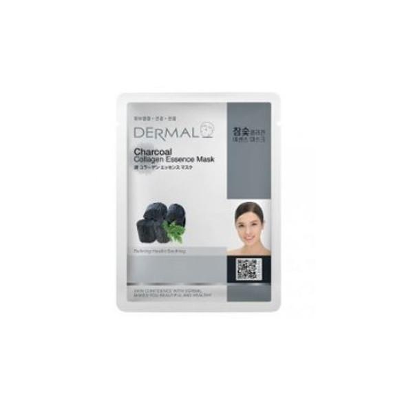 10 Mặt nạ Dermal dưỡng chất than hoạt tính + Collagen Dermal
