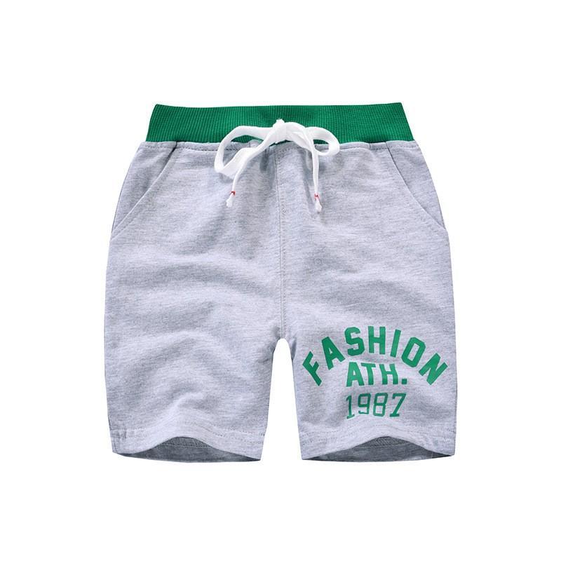 Quần Thun Cho Bé Trai Shop Cầu Vồng Họa Tiết Năng Động Chất  Cotton Xuất Âu Mỹ Bé 2-10T 021