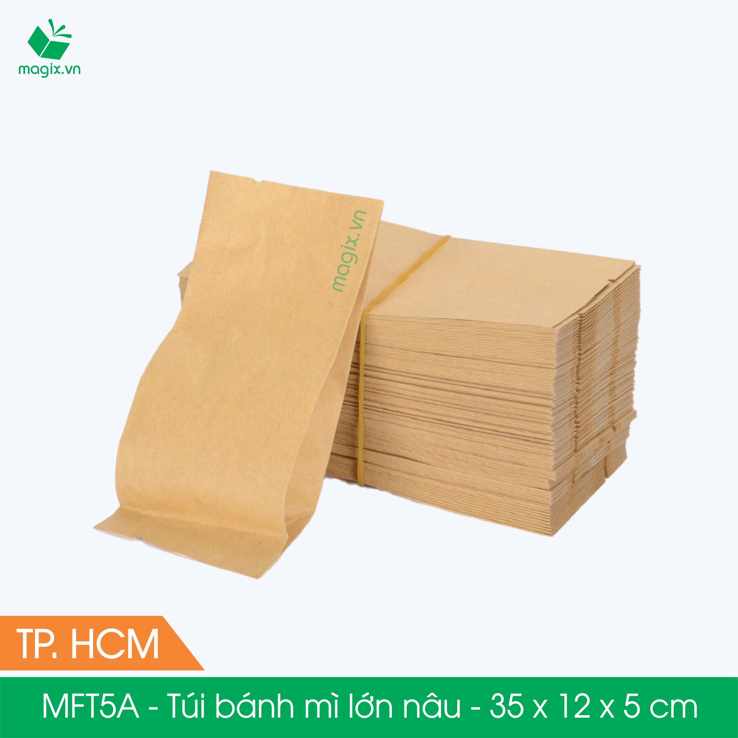 MFT5A- 35x12x5 cm - 1000 Túi đựng thực phẩm - Túi đựng đồ ăn