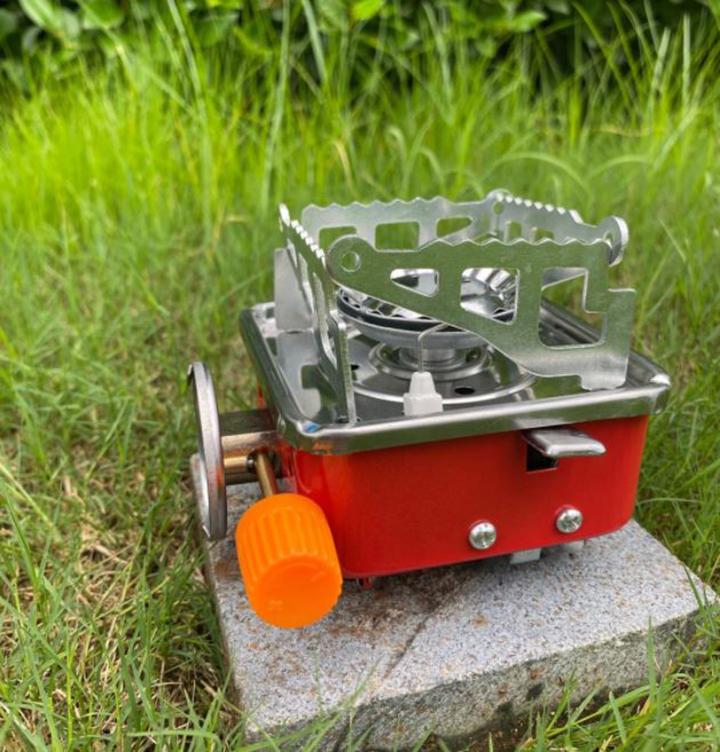 Bếp gas mini nhỏ gọn, tiện lợi, chất liệu cao cấp dễ dàng mang theo khi đi du lịch, cắm trại
