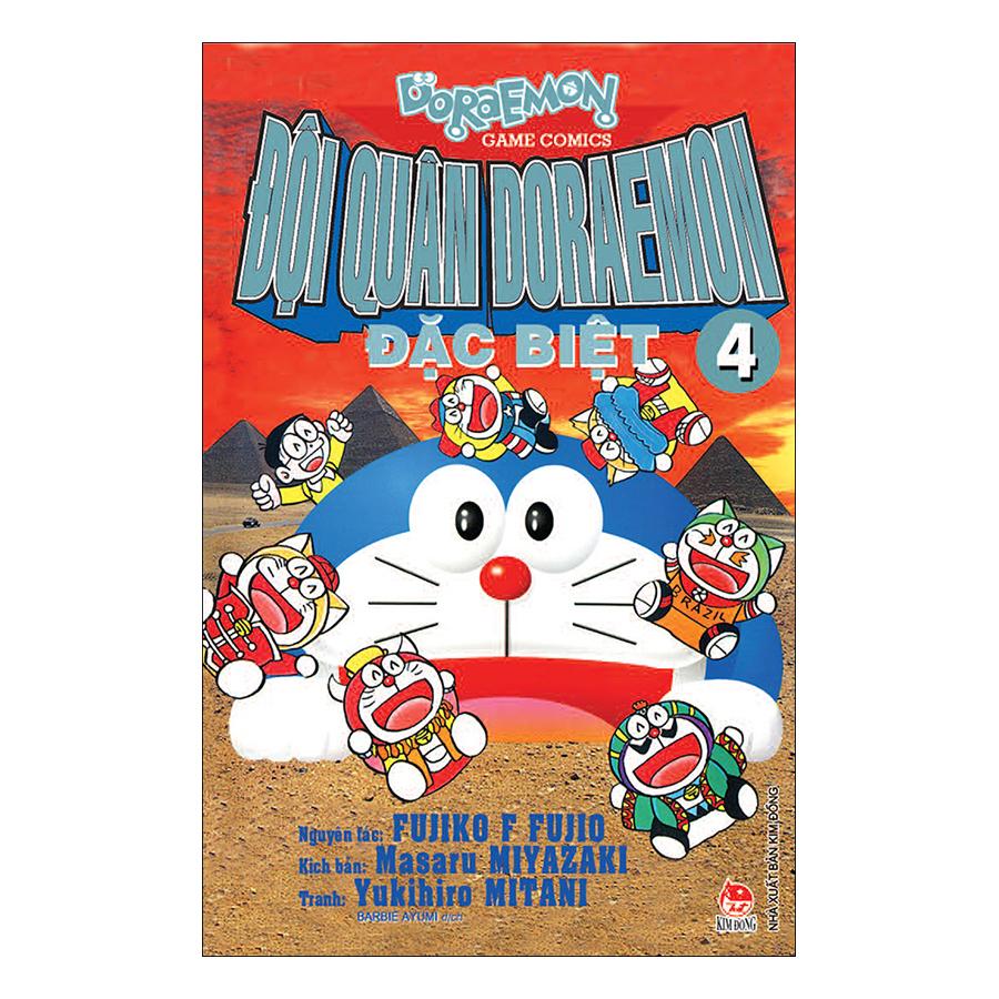 Đội Quân Doraemon Đặc Biệt - Tập 4 (Tái Bản 2019)