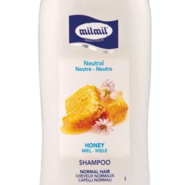 Dầu gội suôn mượt tự nhiên mật ong Milmil Honey 750ml tặng kèm móc khóa