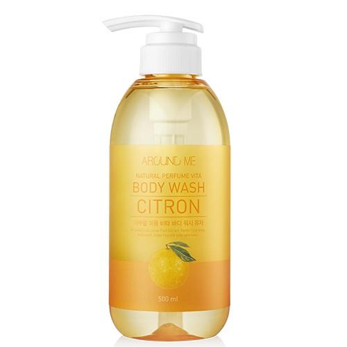 Sữa tắm hương Cam (Hàn Quốc)  Welcos Around me body wash citron 500ml