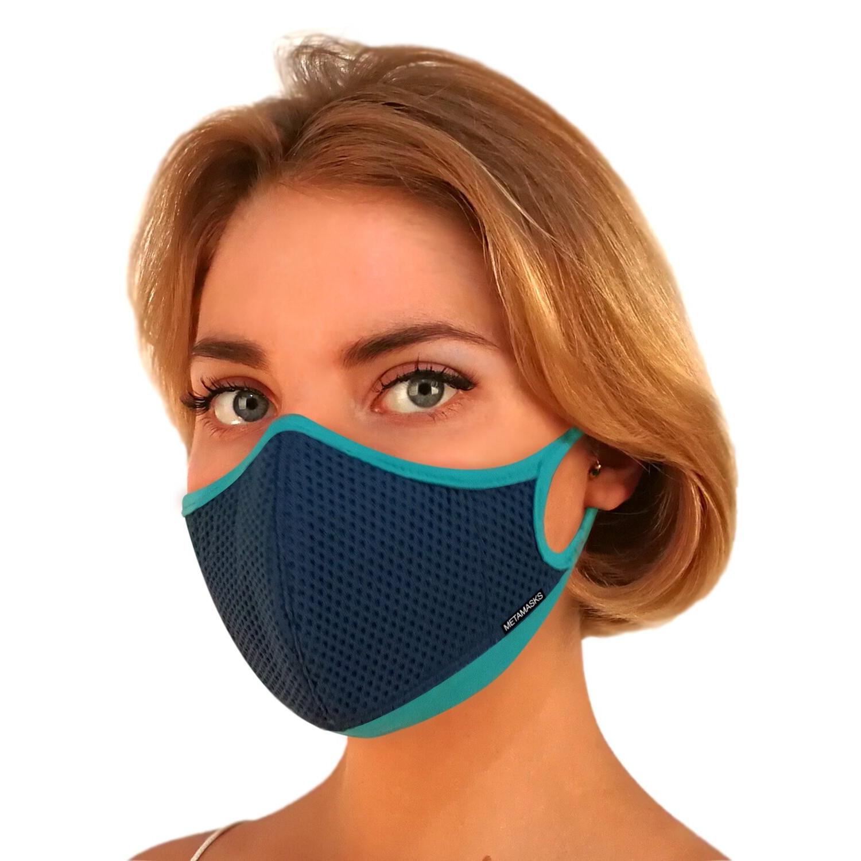 Khẩu Trang Cao Cấp Metamasks - Phòng chống hiệu quả Bụi Mịn Và Các Vi Khuẩn, Virus Có Hại  - M - ARIA