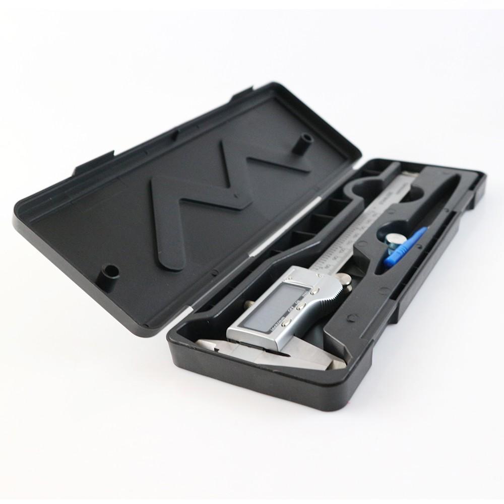 Thước kẹp điện tử cao cấp 150mm thép không gỉ tặng kèm pin