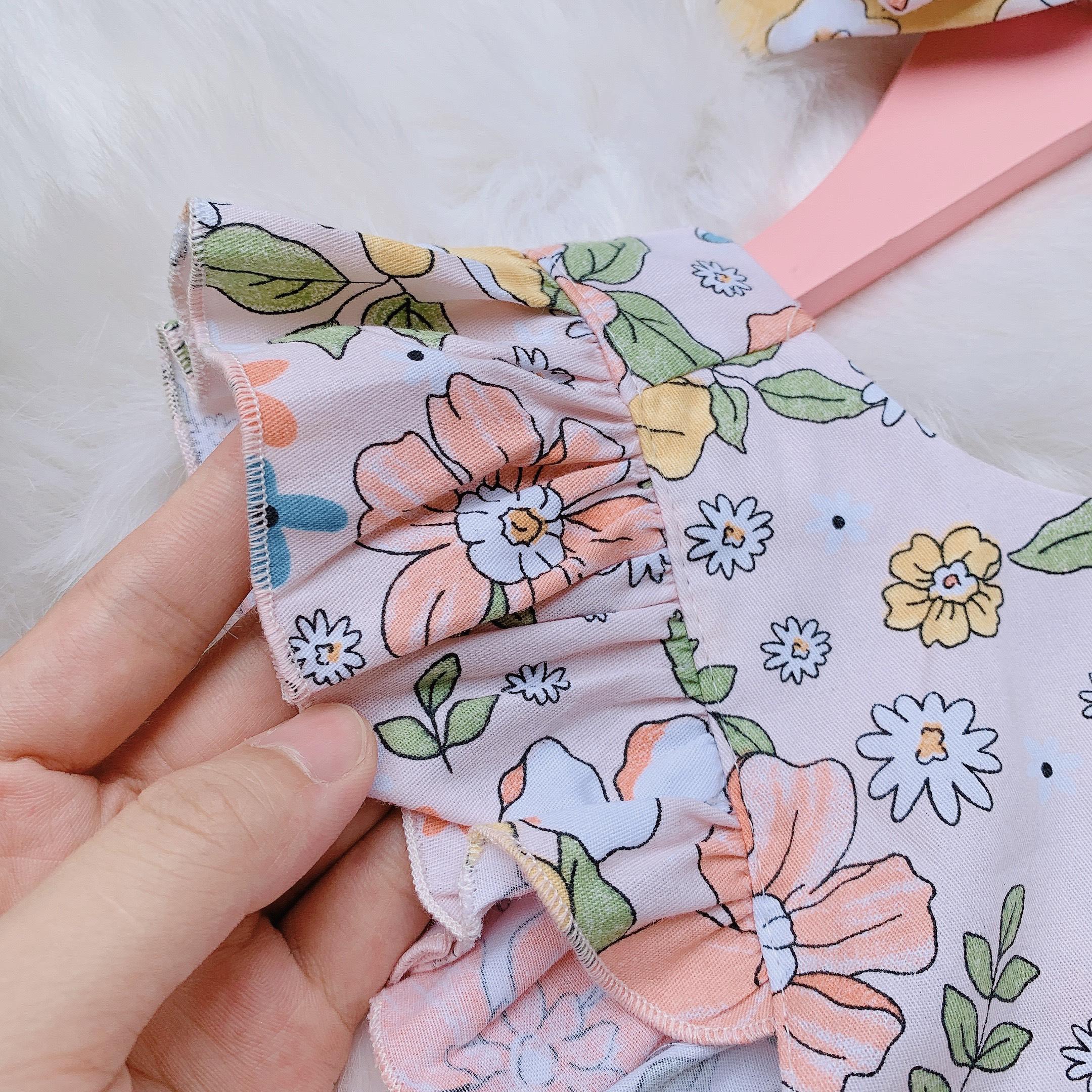 Set jumsuit bé gái dễ thương -  thiết kế Như Ý House - set đồ cho bé gái