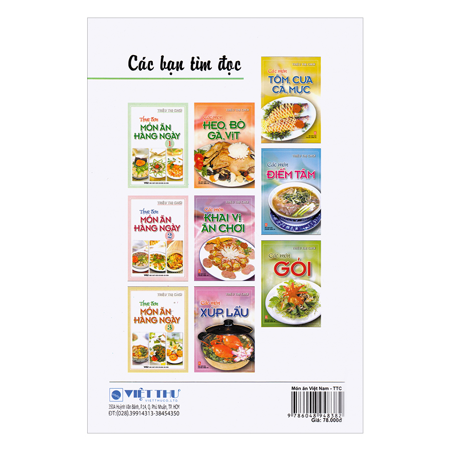 Món Ăn Việt Nam (Món Ăn Gia Đình Và Đãi Tiệc)