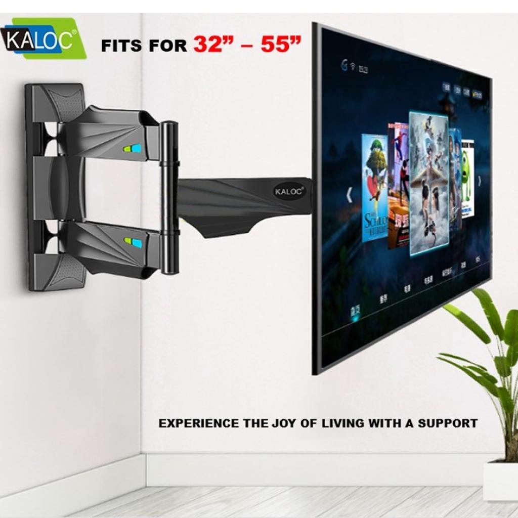 Giá treo tivi xoay đa năng Kaloc X4 32 đến 55 inch - Tải trọng tối đa 32Kg - Xoay mọi góc độ