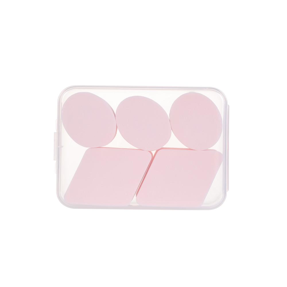 Hộp 5 miếng bông trang điểm Miniso 100g (Giao màu ngẫu nhiên) - Hàng chính hãng