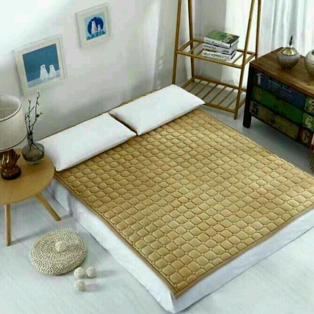 Thảm nhung trải giường mùa đông 1m8 x2m (Ngẫu nhiên)