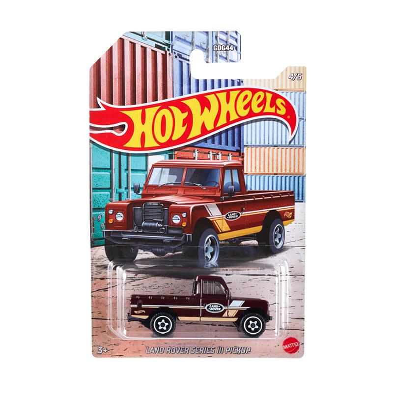 Đồ Chơi Mô Hình HOT WHEELS Siêu Xe Thể Thao Automotive Land Rover Series Iii GRP26/GDG44