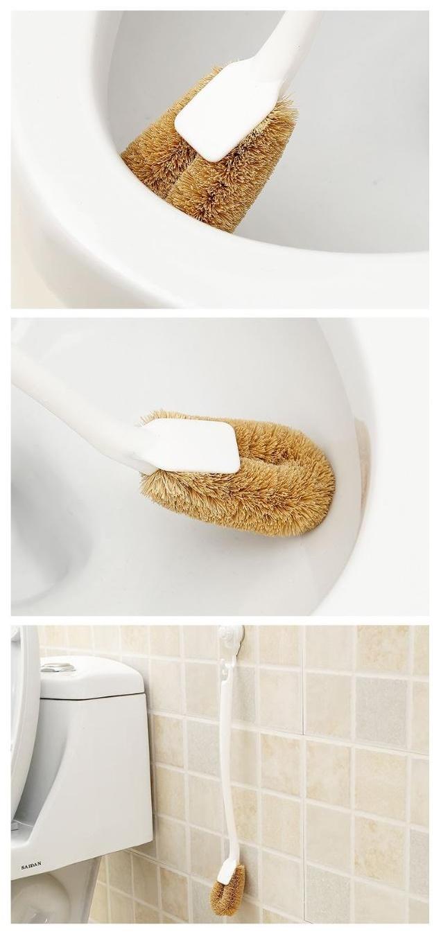 Chổi cọ rửa Bồn cầu/Tolet - Hàng nội địa Nhật Bản