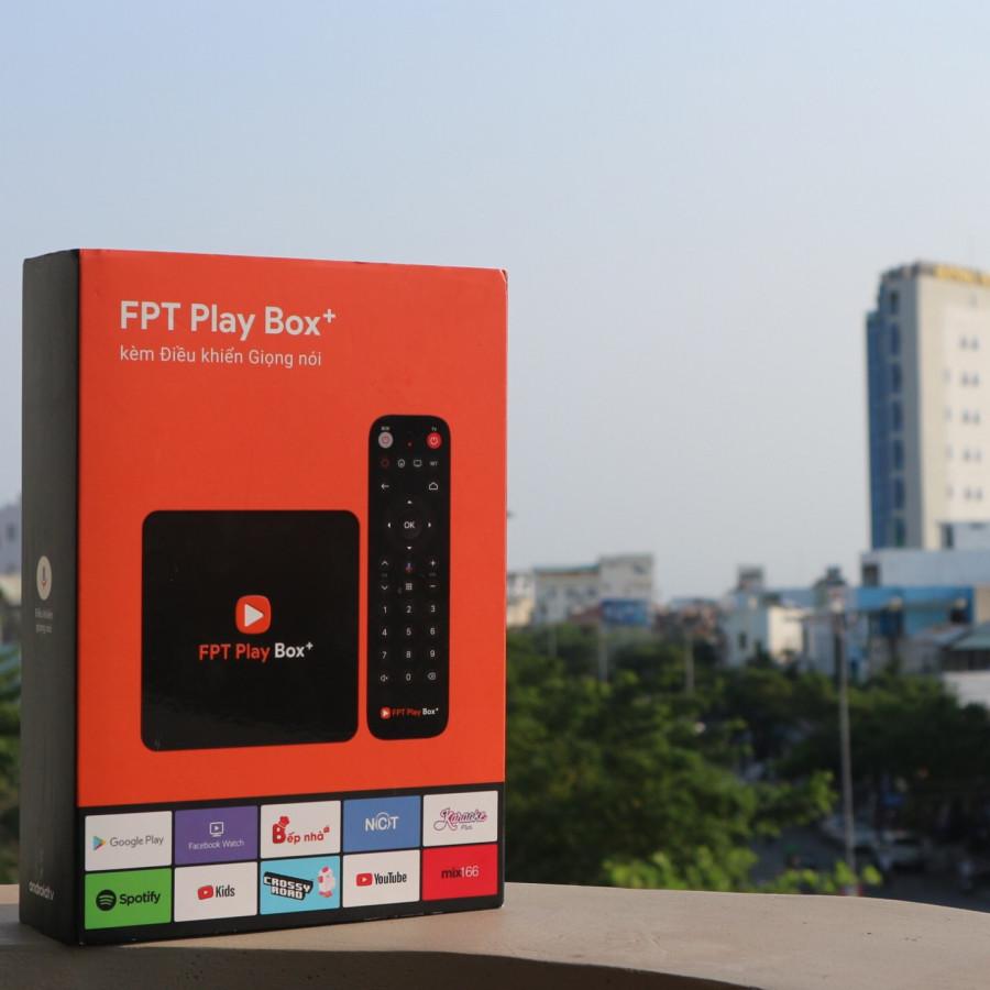 FPT Play Box + ( 4K) - Hàng Chính Hãng