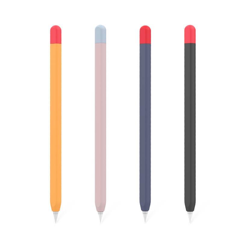 Ốp silicon bảo vệ Apple Pencil 2 kiểu bút chì - Hàng nhập khẩu