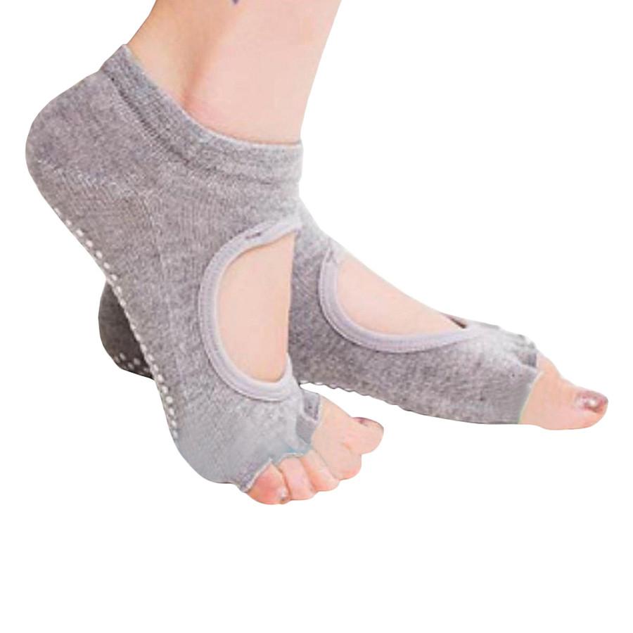 Combo Vớ tập yoga + Bao tay chống trượt Sportslink