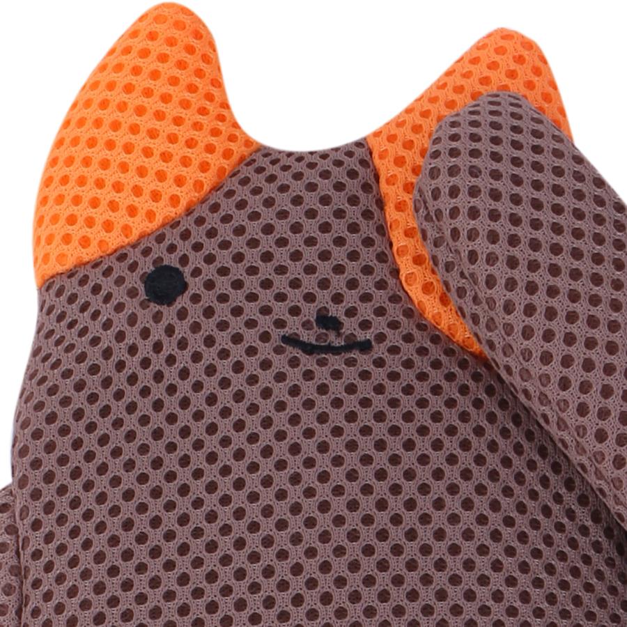 Hộp Bút Con Mèo U & YABY 040/1 - Nâu Cam