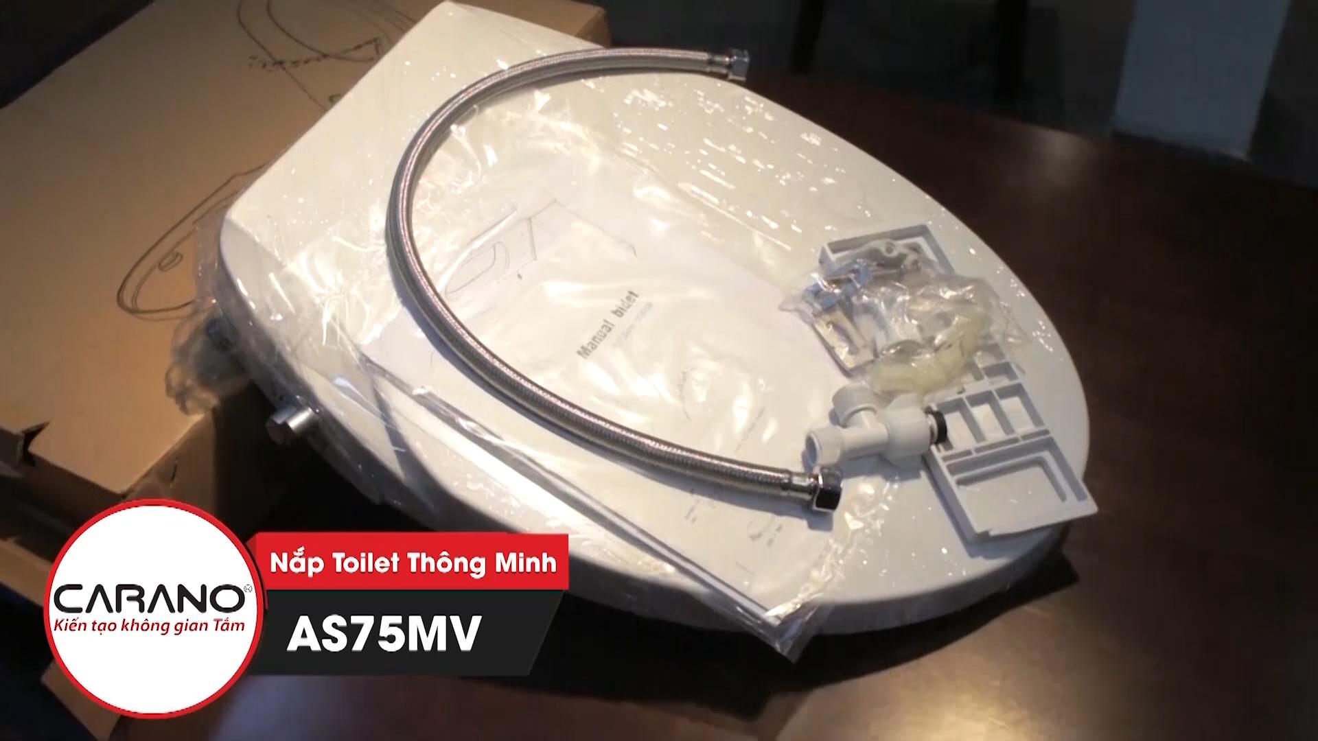 Nắp bồn cầu thông minh CARANO MALAYSIA model AS75MV