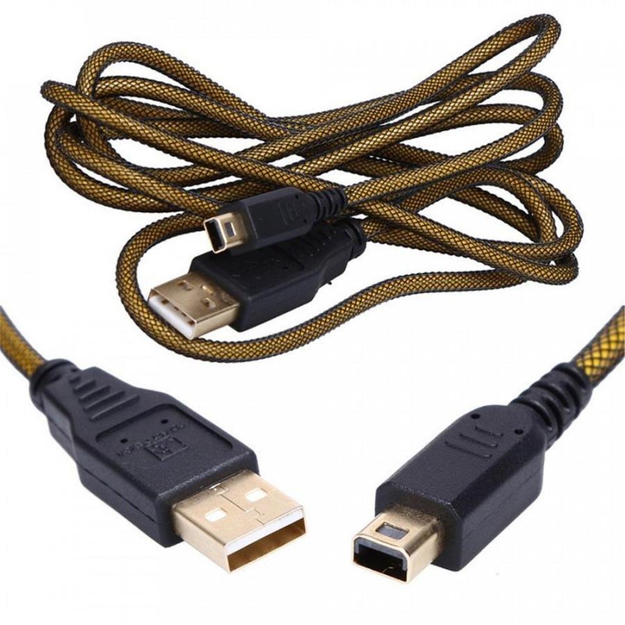 Dây cáp sạc high speed usb charger charging cable cho máy nintendo 3ds xl / 3ds / dsi / dsi xl