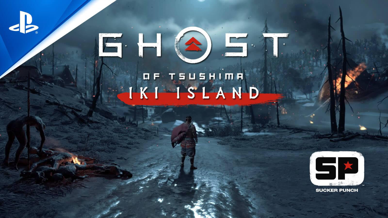 Ghost of Tsushima Director's Cut - PS4 - Hàng Nhập Khẩu