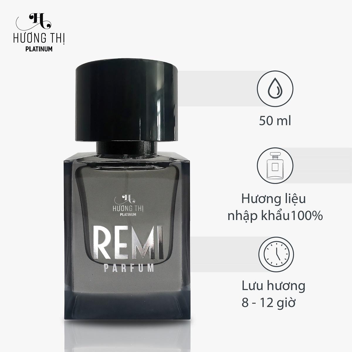 Nước Hoa Nam Remi Hương Thị Phong Cách Cá Tính Cho Phái Mạnh 50 ml