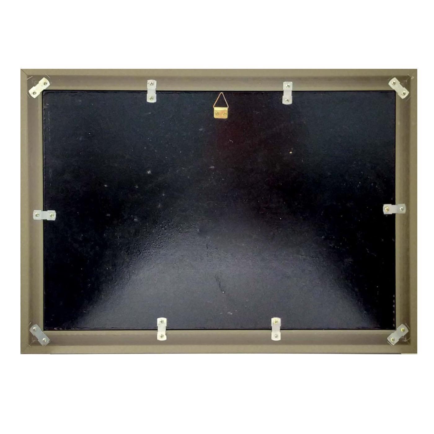 Tranh sơn mài tranh phong thủy trúc đào sum họp SM00003 60x40cm