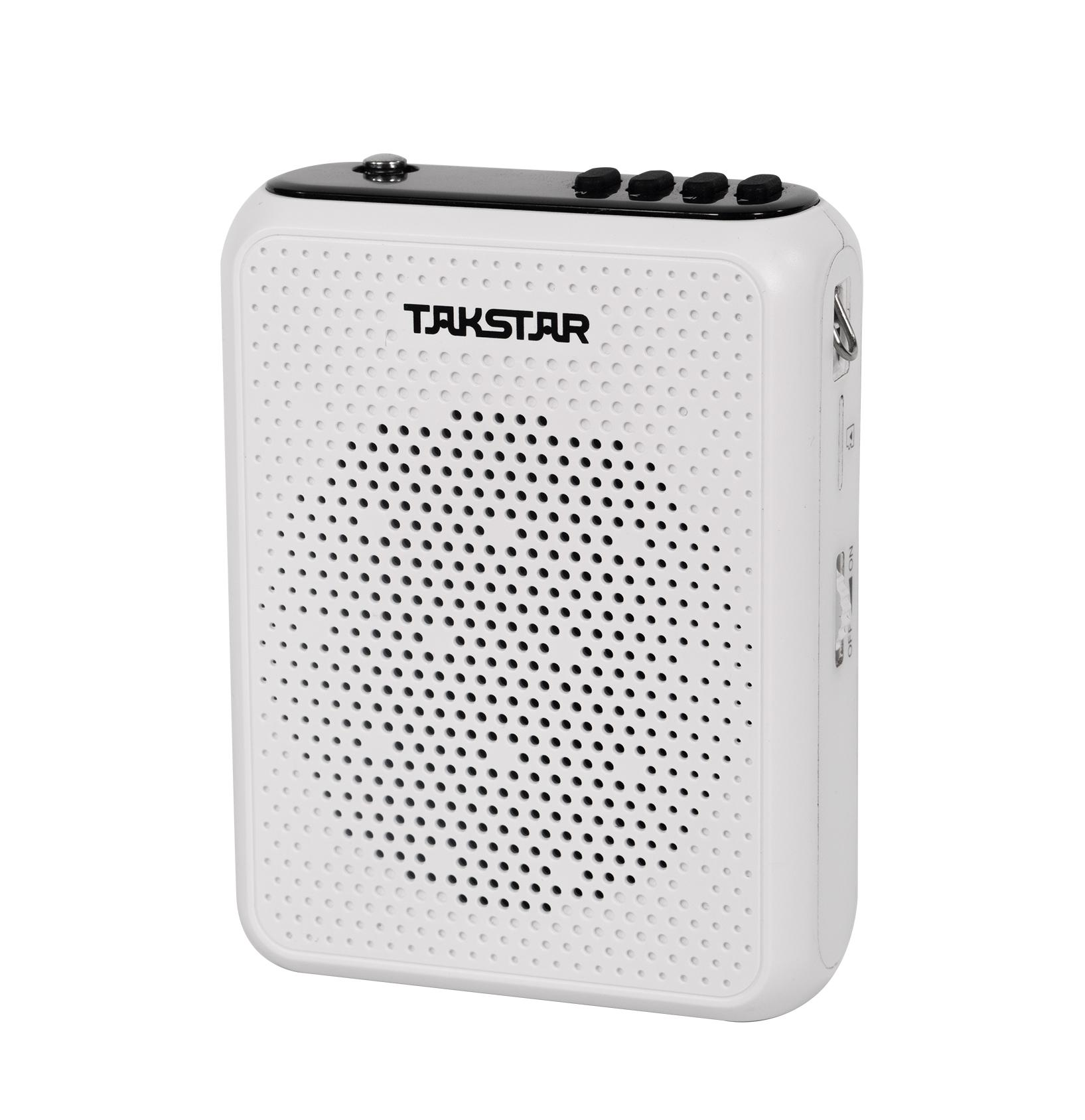Máy trợ giảng không dây UHF Takstar E300W (Tặng kèm củ sạc) - Hàng chính hãng