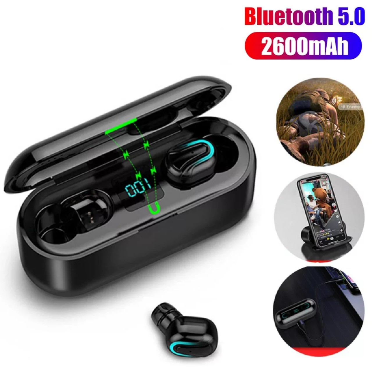 Tai nghe bluetooth Q32 - 1 phiên bản mới năng cấp ( hàng nhập khẩu )