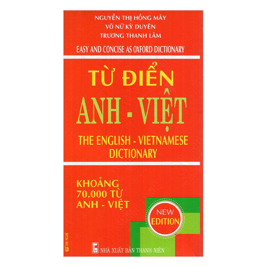 Từ Điển Anh - Việt 70.000 Từ