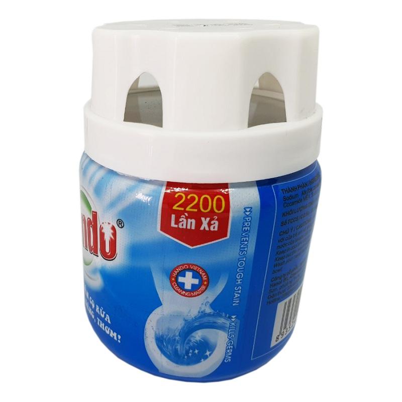 Chai thả bồn cầu Hando nước xả xanh làm sạch Toilet 200Gr