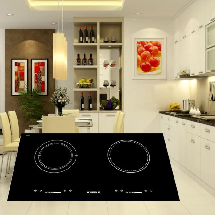 Bếp Âm Đôi Từ - Hồng Ngoại Hafele HC-M772C (77cm) - Hàng Chính Hãng