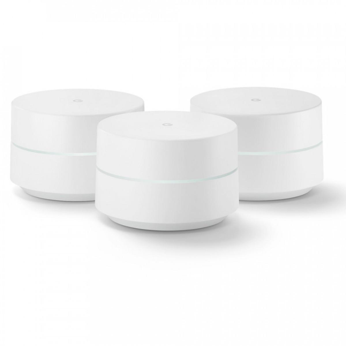 Bộ Phát Wifi Thông Minh Google Wifi - 3 Pack - Hàng Nhập Khẩu