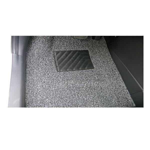Bộ thảm lót sàn xe dấu bụi siêu sạch 5 miếng cho xe ô tô 4-5 chỗ (Xám)