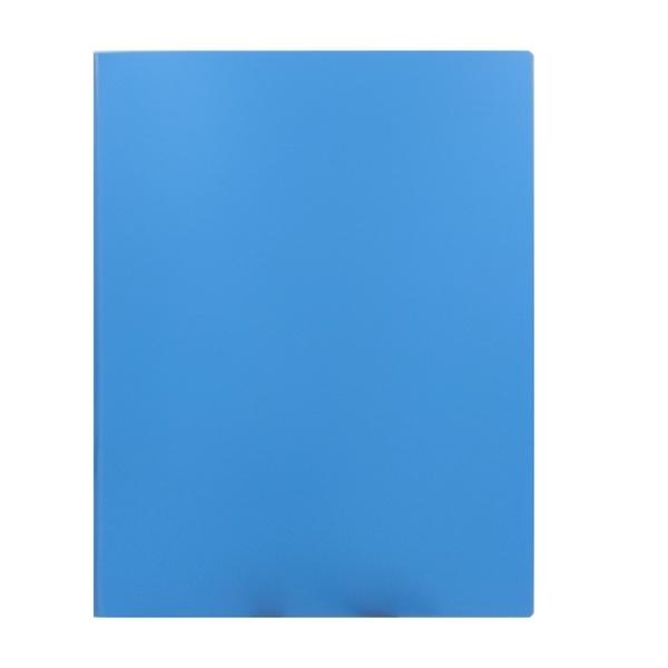 Bìa Hồ Sơ Nhựa Plus 82-V64 - Màu Xanh