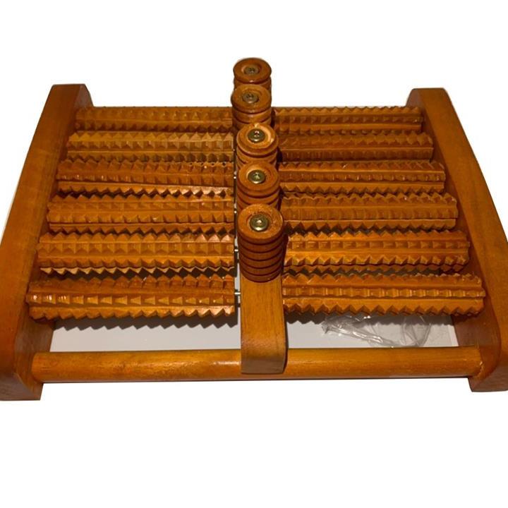 Bàn Lăn Chân Gỗ Massage 6 Hàng ( 31 X 24 X 10 Cm)