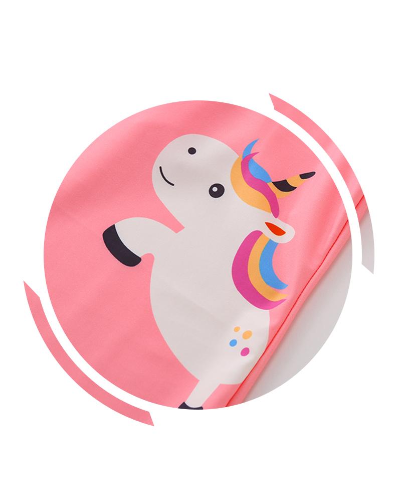 Bộ bơi liền thân kèm Pony LOVE bé gái 3-7 tuổi
