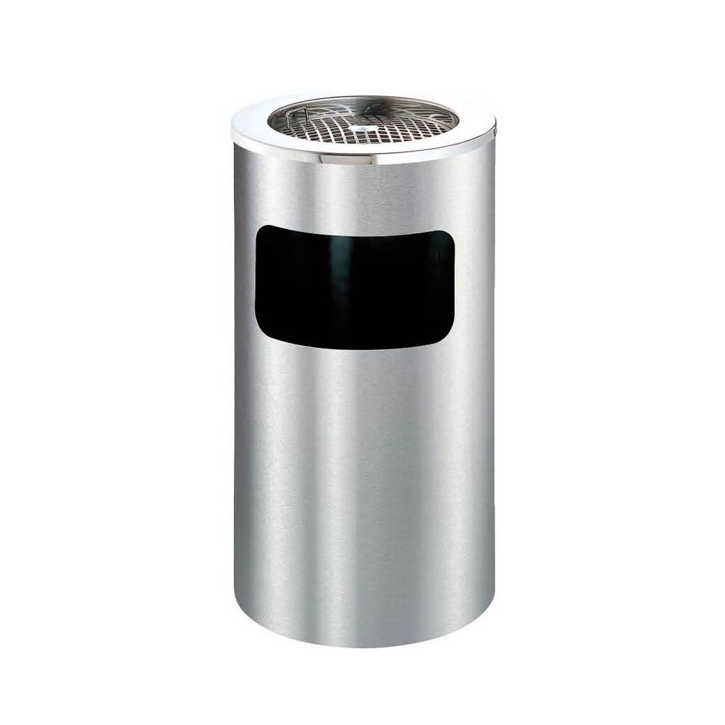 Thùng rác inox gạt tàn tròn - IMT-130