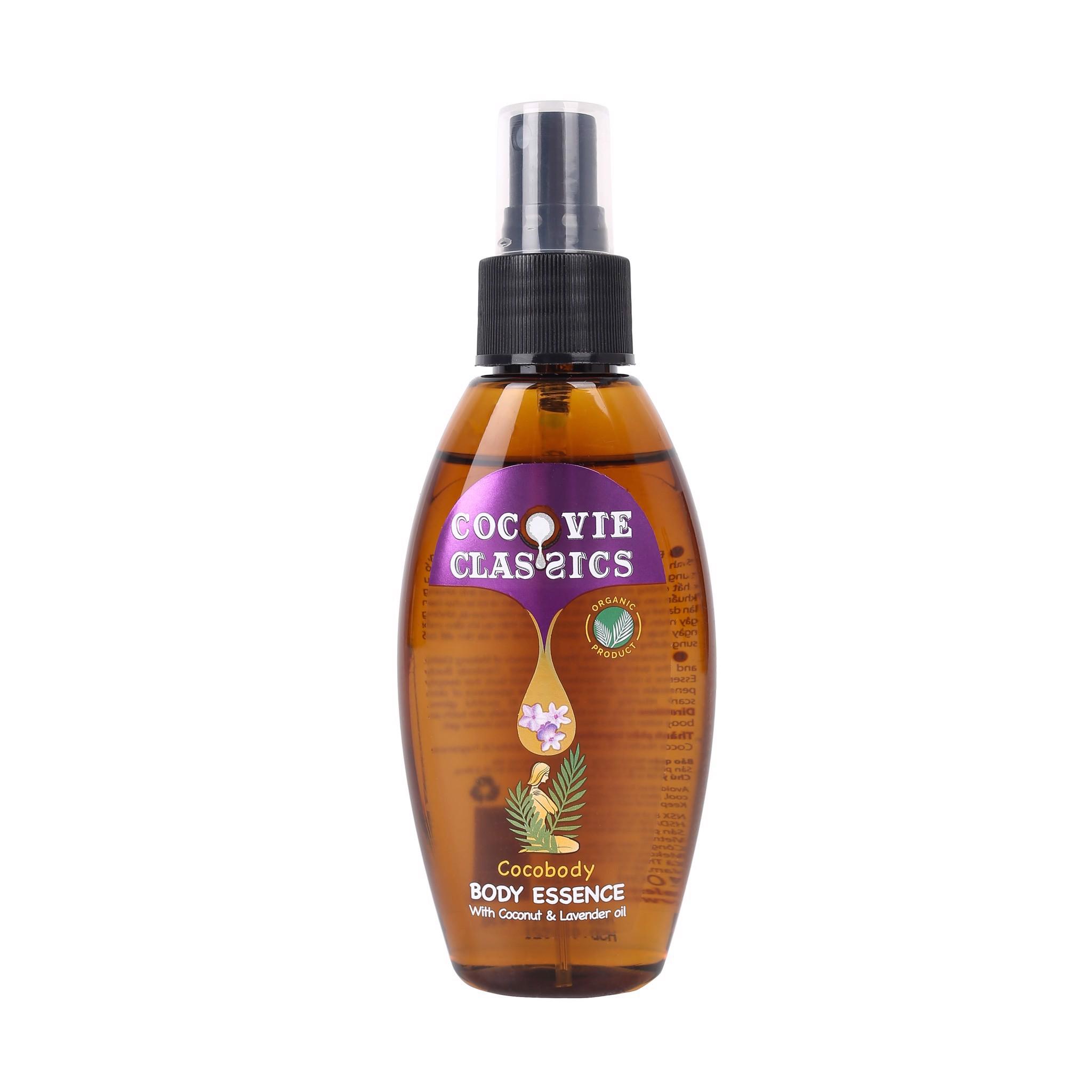Tinh chất dưỡng thể dầu dừa Cocovie