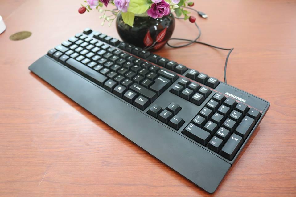 Bàn phím chơi game và văn phòng Newmen E340 - Hàng Chính Hãng