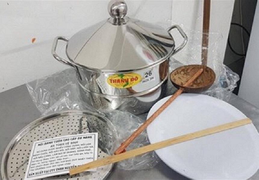 Nồi Bánh Cuốn Đa Đăng Thành Đô size 34cm Thay Thế Xửng Hấp, Nồi Hấp, Bộ Nồi Hấp ,Nồi Inox 304, Nồi Nấu Xôi, Nồi inox