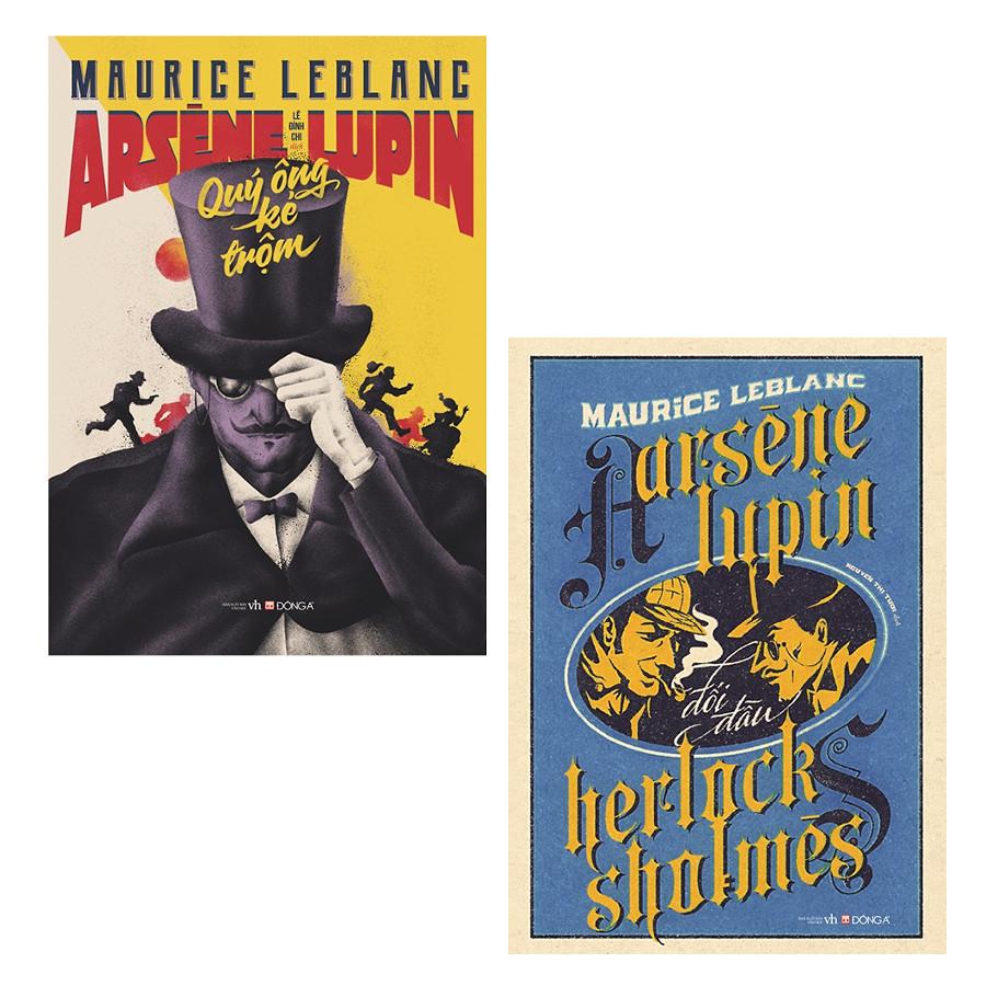 Combo Arsène Lupin: Quý Ông Kẻ Trộm + Đối Đầu Herlock Sholmes