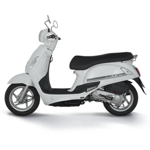 Xe máy Kymco Like 50cc - Trắng