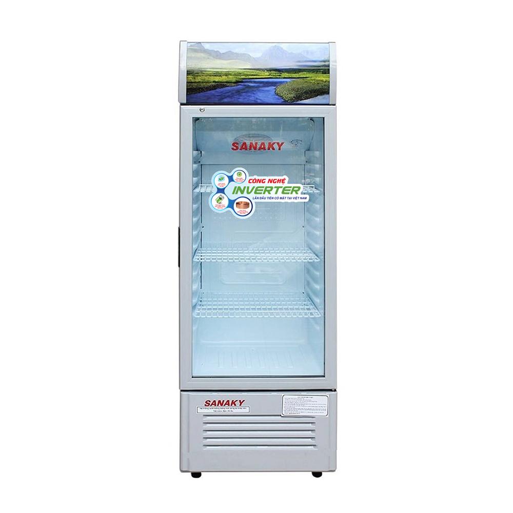 Tủ Mát Inverter Sanaky VH-258K3 (250L) + Tặng 1 Ấm Đun Nước Siêu Tốc Sanaky- Hàng Chính Hãng
