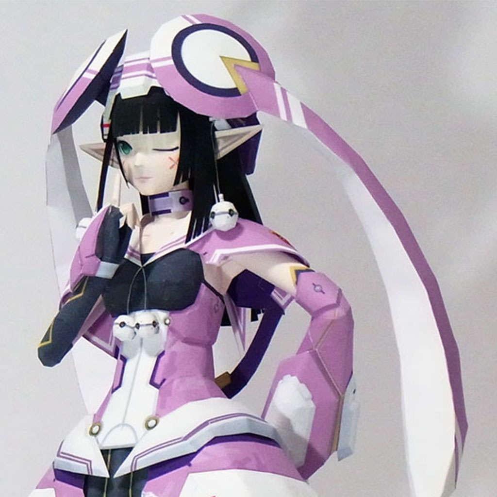 Mô hình giấy Anime FOnewearl - Phantasy Star