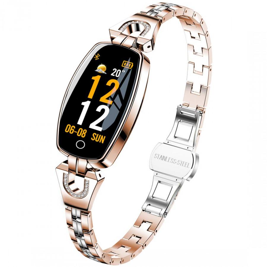Đồng hồ thông minh Tuxedo TW8 , sang trọng, hiện đại, nữ tính, thông minh-Hàng Chính Hãng