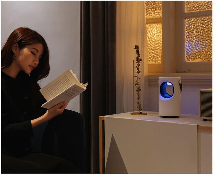 Sunday Alice Máy Diệt Bọ Ruồi Bằng Điện Dễ Lau Chùi , Đèn LED Bẫy Diệt Côn Trùng Đèn Điều Khiển Sâu Bọ Điện An Toàn 100%
