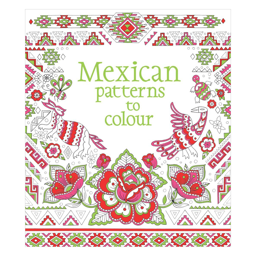 Usborne Mexican Patterns to Colour