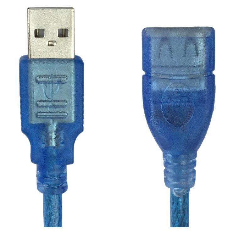 Dây Nối Dài USB 10m Màu Xanh