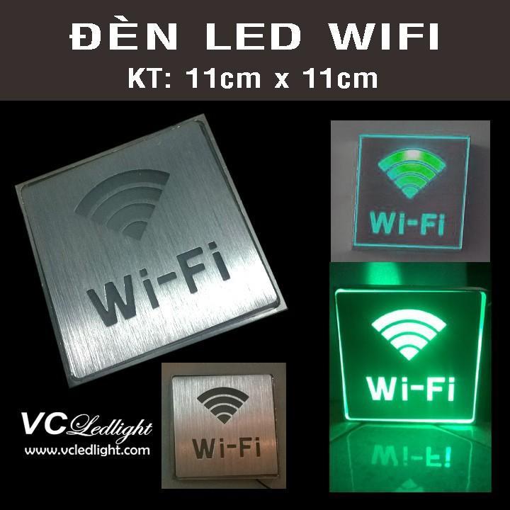 Đèn wifi và WC